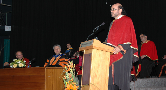 Ceremony for the Award of an Honorary Doctorate to Dr. Christos Papadimitriou, March 18, 2008